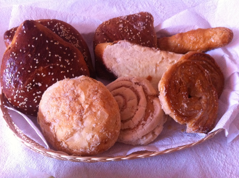 basket of pan dulce