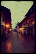 Cuetzalan by night