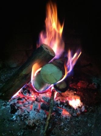 Fire at Malinche