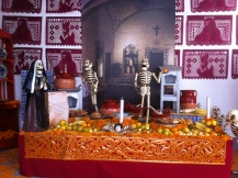 Catholic themed ofrenda