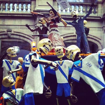 Puebla FC Skeletons