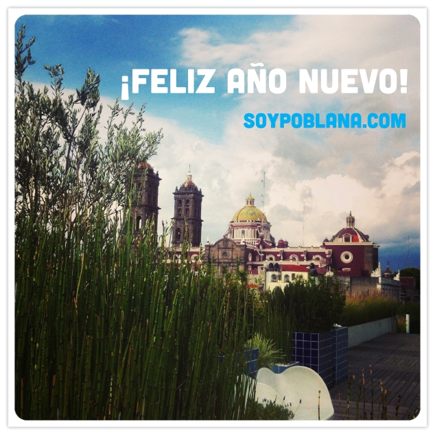 Happy New Year from Puebla