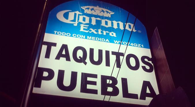 Taquitos de Puebla
