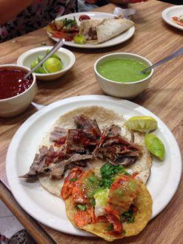 Arabe vs al pastor tacos